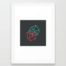 II: Hexaedro Framed Art Print