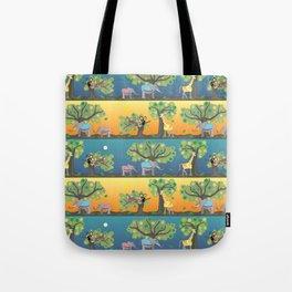 Giraffe & friends Tote Bag
