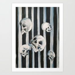 Death Floats Art Print
