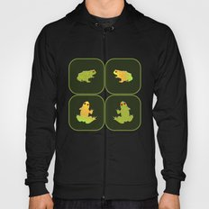 Four frogs Hoody