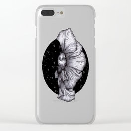 Fins like Fans Clear iPhone Case