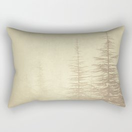 """""""Waiting for you...."""" Mistery forest. Rectangular Pillow"""