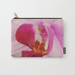 Close up Orchid #3 Carry-All Pouch