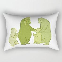Bear family of Five Rectangular Pillow