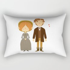Jane Eyre Rectangular Pillow