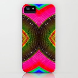 Rainbow In 3D #Society6 #Buyart #colors iPhone Case