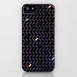 Batstooth Pattern iPhone Case