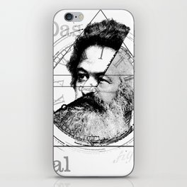 The Time of Marx iPhone Skin