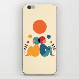 Miss you iPhone Skin