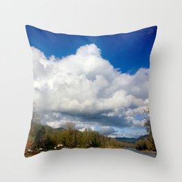Rogue River OR Throw Pillow