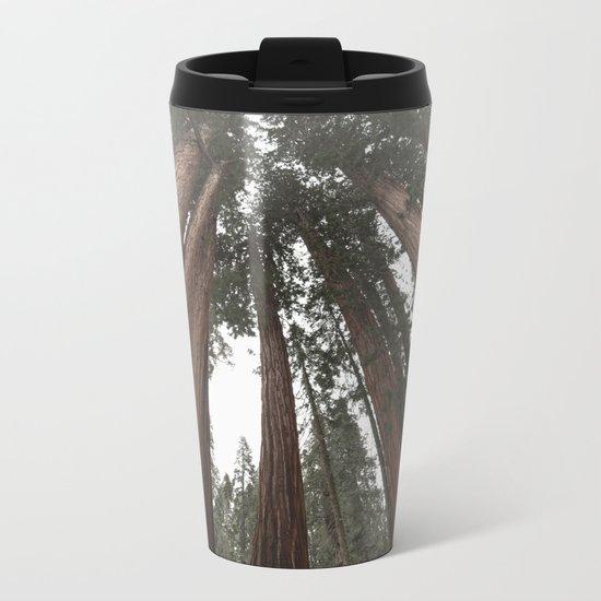 Sky Climbers - Sequoia Metal Travel Mug