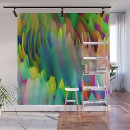 Mythical Fantasy, Forest: Fractal Abstract Art Wall Mural
