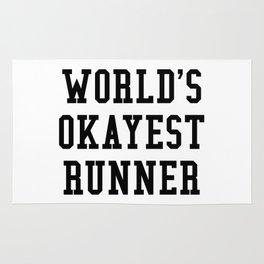 World's Okayest Runner Rug