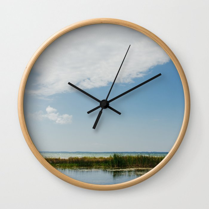 Grand Traverse Bay Wall Clock