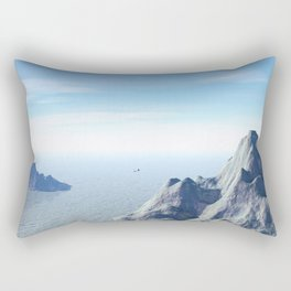 Frozen Trek Rectangular Pillow