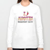chile Long Sleeve T-shirts featuring I chile Austin by Black Oak ATX