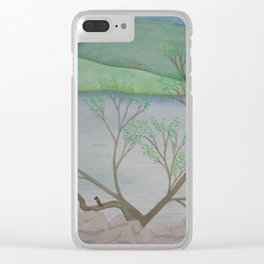 Banks of the Canal Clear iPhone Case
