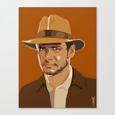 Indiana Jones Canvas Print