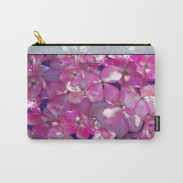 KOREAN DOGWOOD FLORAL COLLAGE Carry-All Pouch