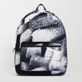 Black and white 2 Backpack
