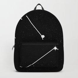 LIBRA (BLACK & WHITE) Backpack