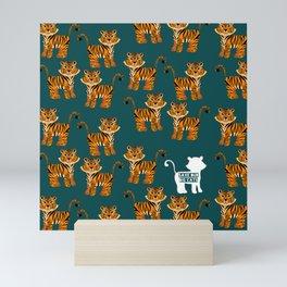 Save the Tigers Mini Art Print