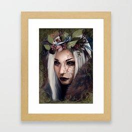 Blackthorn Framed Art Print