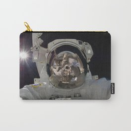 Astronaut Selfie in Space Carry-All Pouch