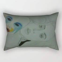 Applause  Face  Rectangular Pillow