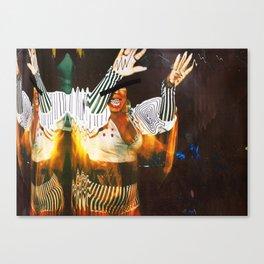 V.I Art Continuation No.1 Canvas Print