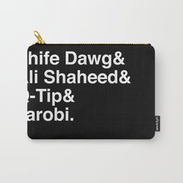Phife Dawg & Ali Shaheed & Q-Tip & Jarobi. Carry-All Pouch
