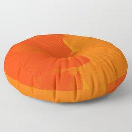 L'homme - flame Floor Pillow