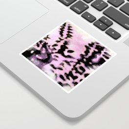 Hazy purplish leaf shadows Sticker