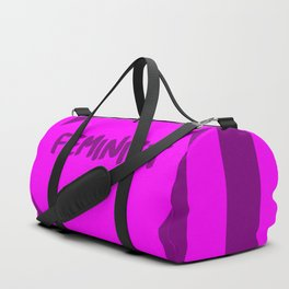feminist af funny saying girl power Duffle Bag