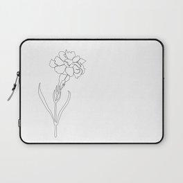 Carnation Lines Laptop Sleeve