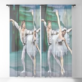 A Perfect Partnership Sheer Curtain