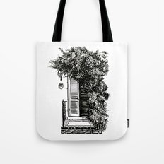 Old Town Door #1 Tote Bag