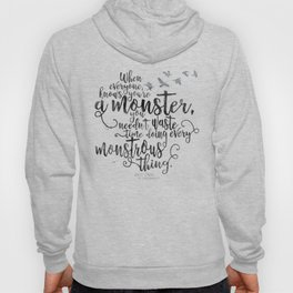 Six of Crows - Monster - White Hoody