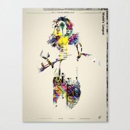 M J Canvas Print