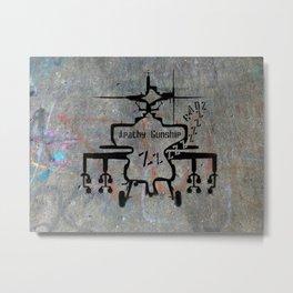 Apathy Gunship Metal Print