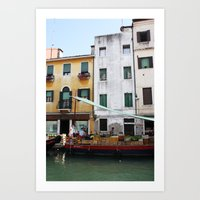venice Art Prints featuring Venice by Kakel-photography