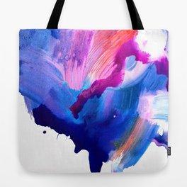 Danbury Abstract Watercolor Painting Tote Bag