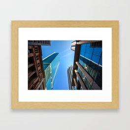 Monumental Skyscrapers in Sydney Framed Art Print