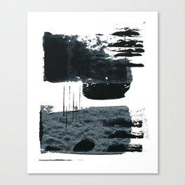 shape shift. navy 01 Canvas Print