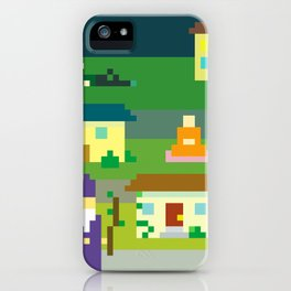 MAGIC SUBURBS iPhone Case