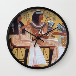 Ipuy and Wife Wall Clock