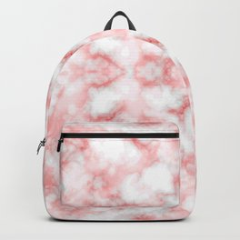 Abstract Red Marbel Backpack