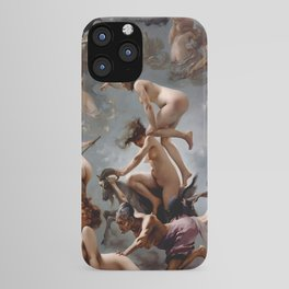 Witches Going To Their Sabbath Luis Ricardo Falero iPhone Case