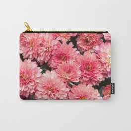 Autumn Kiss Chrysanthemums #1 #floral #art #Society6 Carry-All Pouch