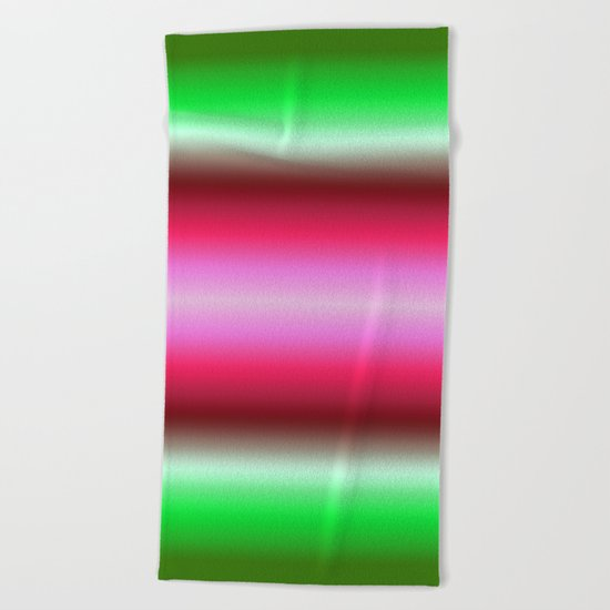 Tropical Gradient Beach Towel